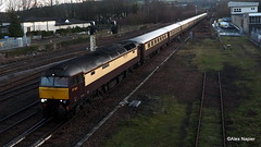 Photo of 57601 with 57314 on rear, 1Z58, Glasgow Central to Perth at Perth.