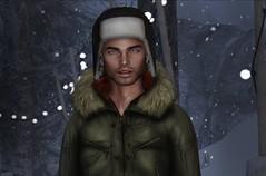 Snowing Again (awkwy) Tags: sl secondlife secondlifeavatar second life slgay slman