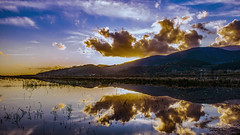 Lake reflection (Alex.Sebastian.H) Tags: reflection clouds water lake alexsebastianh nikkor2470 nature sky blu colors