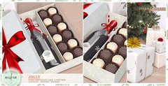 Santa Inc - Ariskea - Jolly (ariskea) Tags: ariskea decor new gifts wine cute food chocolate second life
