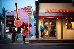 Rock night will be opened soon. (Akira.Tagawa_JPN)) Tags: tokyo hardrockcafe hard rock cafe japan night restaurant akira tagawa アキラ タガワ