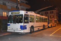 Trolleybus NAW BT-25 n°790 en service sur la ligne 9. © Marc Germann (Marc Germann) Tags: trolleybusnawbt25 retrobus leman tl lausanne transportspublics remorques ligne9 ligne2 man articulé articulation mercedescitarobenz convois hessag hesskièpe nawhesssiemens joj2020 transport tramways bus par brise routes