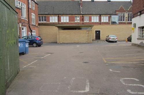 Richard III's Parking Lot, Leicester, England