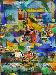 Edgar Tried to Hit Rock Bottom (tomswift46 ( Hi Res Images for Sale)) Tags: abstract surreal dadaist colorful