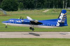 OO-VLR (PlanePixNase) Tags: aircraft airport planespotting haj eddv hannover langenhagen fokker 27 f27 vlm