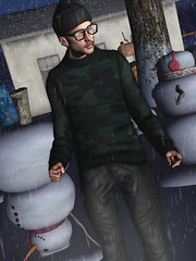 ☠ OPEN YOUR EYES - SNOW PATROL (Shock Q'Kell) Tags: secondlife sl male men man boy bloggers slbloggers lelutka guy head mesh bento body legacy tmp straydog joffrey skin tmd event lapointebastchild sweater deadwool beanie anthemevent pumec ears sorgo glasses rkkn uber pants photo slphoto picture slpicture moda slmoda style fashion mainstore store