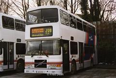 Dublin Bus RV470 (99D470). (Fred Dean Jnr) Tags: dublinbus broadstone volvo olympian alexander rh rv470 99d470 broadstonegaragedublin january2003 cityswift bus dublin busathacliath bstone broadstonedepotdublin buseireannbroadstonedepot