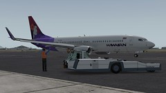 b738 - 2019-12-04 22.33.53 (Rell Brown) Tags: flyjsim boeing 727200 737ng firstair american air lines oneworld greyhound hdmeshv4 hawaiian airlines