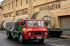 Docks Dodge (ekawrecker) Tags: malta maltese marsa truck lorry camion