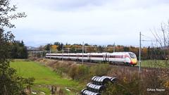 Photo of 800109, 1Z42, Inverness to Edinburgh at Bannockburn station road, Stirling.