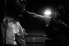 46423 - Cross (Diego Rosato) Tags: boxe boxing pugilato boxelatina ring match incontro nikon d700 tamron 2470mm rawtherapee blackwhite bianconero pugno punch cross diretto