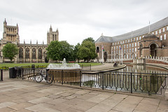 Bristol Cathedral, England (Billy Wilson Photography) Tags: 2019 adventure biketour cycling europe bike tour uk united kingdom england british britain english gloucester gloucestershire bristol city architecture historic stone church cathedral religious gothic