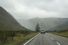 Scotland, from the road (floating_stump) Tags: scotland thehighlands throughthewindshield rebelt5i