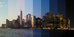 Lower Manhattan timelapse (sonic182) Tags: lower manhattan timelapse time lapse hdtr photolapse high dynamic range new york city united states america ny usa governors island financial district skyline skyscraper skyscrapers one world trade center night dusk blue hour evening sunset