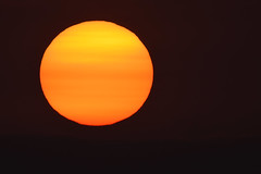 Smoke Affected Sunrise (andrewrosspoetry) Tags: fire smoke sola solar star