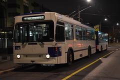 Trolleybus NAW BT-25 n°782 en service sur la ligne 2. © Marc Germann (Marc Germann) Tags: trolleybusnawbt25 retrobus leman tl lausanne transportspublics remorques ligne9 ligne2 man articulé articulation mercedescitarobenz convois hessag hesskièpe nawhesssiemens joj2020 transport tramways bus par brise routes