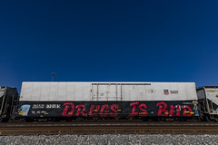(o texano) Tags: houston texas graffiti trains freights bench benching dib
