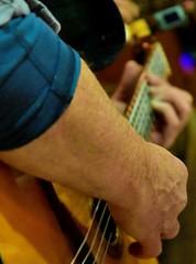 Gypsy Jazz (☼☼ Jo Zimny Photos☼☼) Tags: theflickrlounge filltheframe arm hand gypsyjazz briankeller hands musician