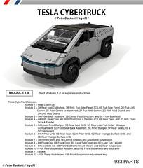 Tesla Cybertruck - Instructions now Available on Rebrickable (lego911) Tags: tesla cybertruck instructions rebrickable truck pickup electric bev battery auto car moc model miniland lego lego911 afol part list teslamotors cybertruckinstructions teslainstructions buildthe foitsop