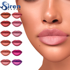 Ragazza lipstick applier for GENUS (sirengraph.sl) Tags: secondlife secondlifeavatar makeup lipstick genusapplier sl slonly sllife 3d graphicdesigner