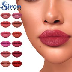 Satin lipstick applier for GENUS (sirengraph.sl) Tags: secondlife secondlifeavatar makeup lipstick genusapplier sl slonly sllife 3d graphicdesigner