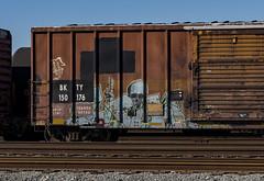 (o texano) Tags: houston texas graffiti trains freights bench benching ich ichabod yme circlet