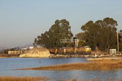 Golden Hour Coal Buckets (I) (imartin92) Tags: pinole california unionpacific railroad railway freight train ge generalelectric es44ac gevo emd sd70ace locomotive