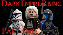 Dark Empire Rising Part 2 Brickfilm (AJV Films) Tags: star wars lego clone trooper moc mandalorian jedi brickfilm