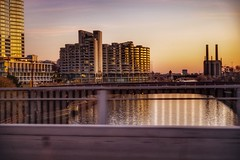 C H I C A G O (OstyleProductions) Tags: driveby ontheroad z6 nikon soothing calming bridge goldenhour golden skyline skyscraper highrise chicago