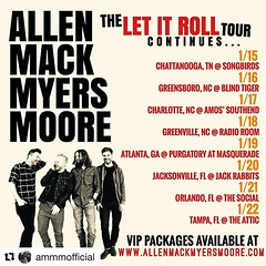 "#Repost @ammmofficial: Hey y'all! Welp! ... 1st Jr Moore got booked on a big ol' Boat with a bunch of our friends called ""The Rock Boat"" And then AMMM got booked on the same boat ..... Well.... we gotta get to that big ol boat somehow ... so we thought .. (AllenMackMyersMooreNation) Tags: allen mack myers moore ammm"