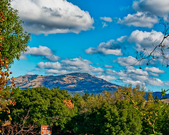 Next Exit - Mt. Diablo State Park (greensteves) Tags: mtdiablo landscape nature steve omd olympus clouds cumulus mountain