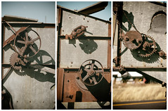 parts of a contraption (annapolis_rose) Tags: machinery antique shaniko wascocounty centraloregon oregon