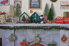 [Advent] - Re-ment Christmas Chocolate Case (Moonrabbit_ly) Tags: miniature rement rements christmas christmasdecor dollhouse onesixscale