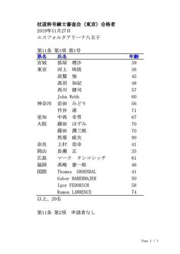 Passing Jodo Renshi Exam