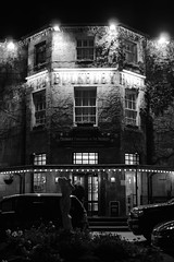 Bulkeley Hotel in Beaumaris on Anglesey (timsnow20) Tags: anglesey beaumaris photography hotels bw night evening accommodation mon wales north nikon d800