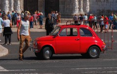 drive a classic (try...error) Tags: fiat 500 puch red rot cool car man sony emount 1670 6300 lissabon lisboa portugal