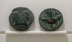 Musée de la romanité, Nîmes, Languedoc-Roussillon, France (antonskrobotov) Tags: france languedoc nimes gard ancient ancientcity romanempire coin romancoins