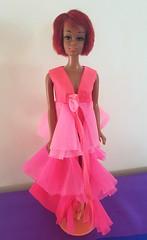 "TNT Julia in ""Pink Fantasy"" (kowak88) Tags: tnt julia mattel black nurse diahann carroll vintage 1127 1968 1969 twistn turn"