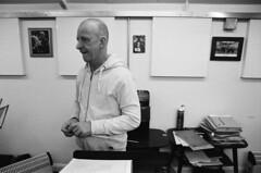 13 Knottingley Silver Band: conductor (I ♥ Minox) Tags: film 2019 knottingley knottingleysilverband brassband windband music musician musicians rehearsal yorkshire westyorkshire olympus om1 om1n olympusom1 olympusom1n ilford hp5 ilfordhp5plus hp51600 1600asa