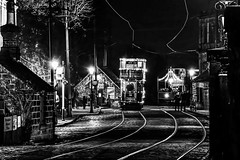 Memory Lane: Crich Tramway museum - Starlite Event (Explored #3) (gavsidey) Tags: crichtramwaymuseumderbyshired500ngcnighttramstreet
