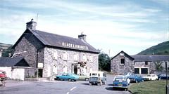 Black Lion Hotel, Snowdonia, Wales,  1977 (D70) Tags: blacklionhotel snowdonia wales 1977 film slide fujica rapid s2 scanned builing llanfairtalhaiarn uk