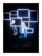 Illuminate 2019 (Rich Walker Photography) Tags: illuminate plymouth devon festival light evening event night nightshot people crowd art abstract canon efs1585mmisusm eos80d eos