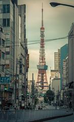 Japan - Tokyo (SergioQ79 - Osanpo Photographer -) Tags: japan tokyo roppongi sunset tower street people nikon sky clouds d7200 2019