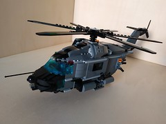 """Lego """"Leviathan"""" Heavy Helicopter (Parm Brick) Tags: lego military air moc mod afol heavy helicopter army modern force"""
