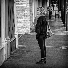 Hmmm - what's on tonight? (Chris (a.k.a. MoiVous)) Tags: streetphotography adelaidecbd streetlife commuters