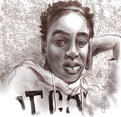 Portrait (Z1710) #portrait #character #painter #painting #inspiration #paintings #drawings #portraitmood #arts_gallery #visualdevelopment #instagood #inspiration #art_spotlight #artwork #sktchyapp #artistoninstagram #illustrationartist #portraitpainting # (ArtMagenta) Tags: artmagenta sketch drawing painting art