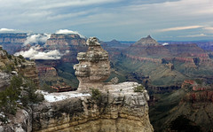 USA - Arizona - Grand Canyon South Rim (AlCapitol) Tags: usa us etatsunis nikon d810 arizona southrim canyon neige snow grandcanyon