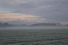 Afas Stadion (Johan Moerbeek) Tags: az voetbalstadion voetbal mist misty clouds moerbeek canon frozen grass alkmaar hss