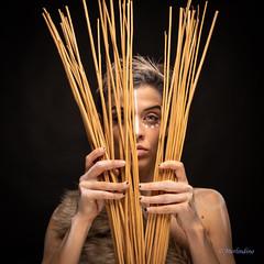 Sguardi (Merlindino) Tags: albachiara minette tribal glance synthetic fur portrait ritratto sony