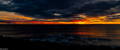 Sunrise seascape from Torry Battery Aberdeen 07/12/2019. (Rab,) Tags: aberdeen scotland unitedkingdom sunrise seascape torrybatteryaberdeen
